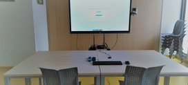 Gallery-Teleconference rooms at IGF